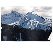 The Tatoosh Mountain Range Poster