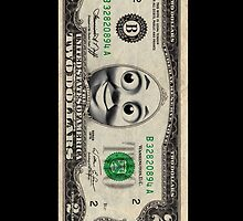 Two dollars THOMAS by SrGio