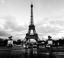 Eiffel Tower by CRGArtDesign