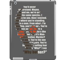Why bother? iPad Case/Skin