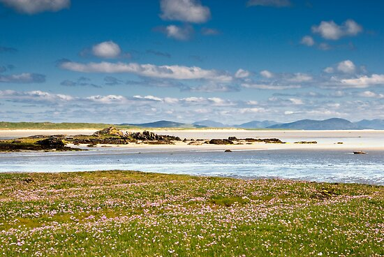 North Uist: Beach Stroll by Kasia-D