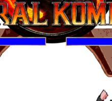 MORAL KOMBAT Sticker