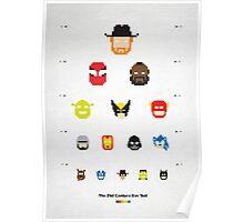 Pixel Eyetest Poster