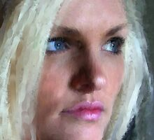 My Beautiful Daughter by Sandra Bauser Digital Art