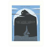 The Wind Waker: Live the Legend Art Print