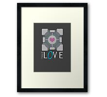 Portal | True Love Framed Print