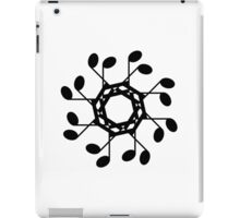 Semi-quaver circle iPad Case/Skin