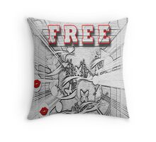 FREE- Art + Products Design  Throw Pillow