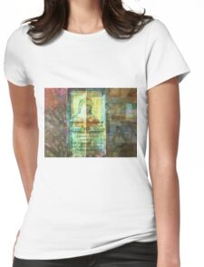 The Serenity Prayer Womens Fitted T-Shirt