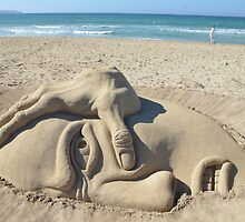 Sand Sculpture by franceslewis