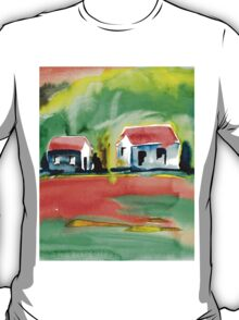 Psychedelic Cottages T-Shirt