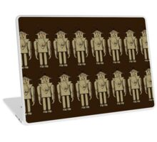 Vintage Robot Army by Chillee Wilson Laptop Skin