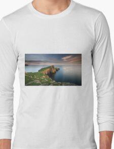Neist Point at Sunset Long Sleeve T-Shirt