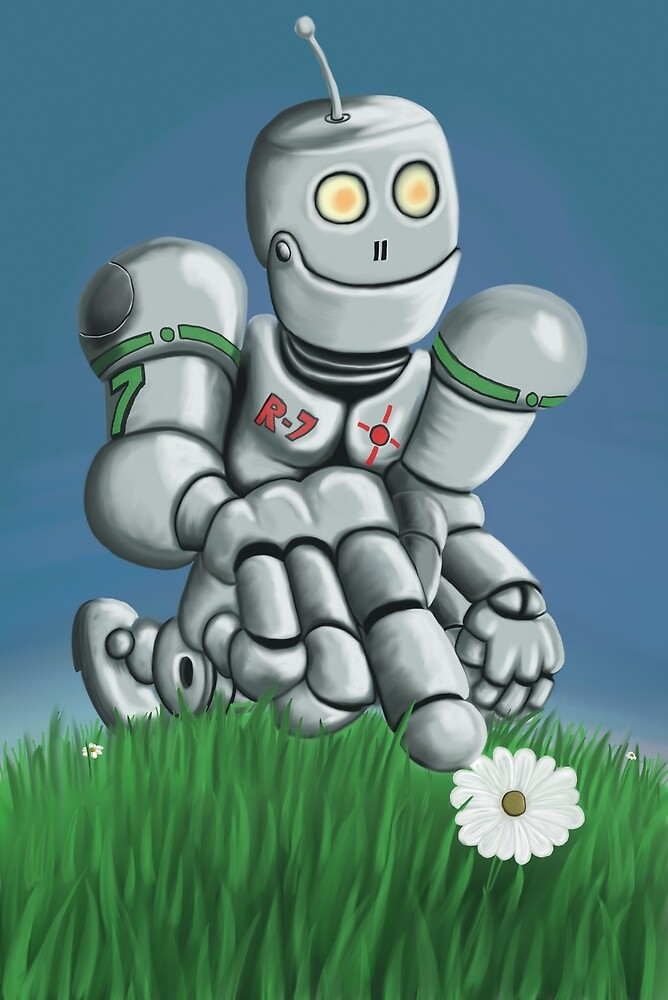 Daisy Picking Robot by mdkgraphics