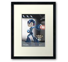 Blue Legend Framed Print