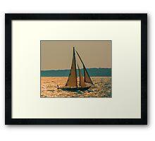 Morning Sail Framed Print