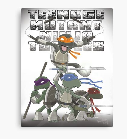 TMNT Canvas Print