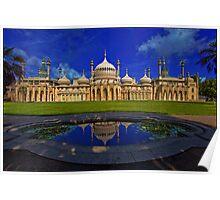 The Royal Pavilion at Sunrise, Brighton, UK Poster