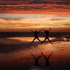 Two Stars for a Perfect Sunset by Gabrielle  Lees