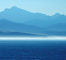 Plettenberg Bay in the evening by Selsong