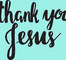 Thank You Jesus by noeldolan