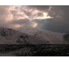 Cumbrian Cloudscape Photographic Print