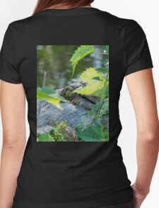 Emerald Eye Womens Fitted T-Shirt