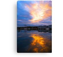Mystic Rush Hour Canvas Print
