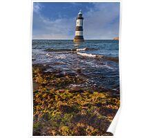 Summer Lighthouse Poster