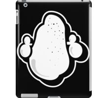 classic logo bw iPad Case/Skin