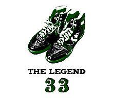 33 The Legend Photographic Print