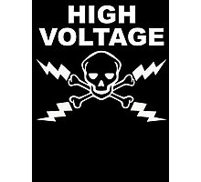 High Voltage - White Photographic Print