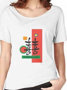 Double happiness Women's Relaxed Fit T-Shirt