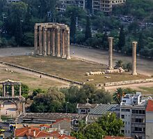 Temple of Olympian Zeus by Tom Gomez
