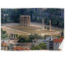 Temple of Olympian Zeus Poster