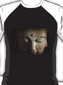 Buddhas Cracked Face T-Shirt
