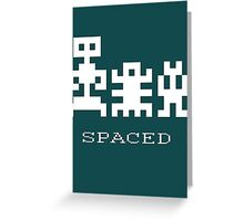 Spaced Greeting Card