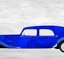 Blue car by jripleyfagence
