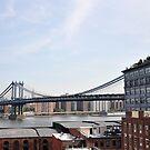 Manhattan Bridge - New York City by Hilda Rytteke