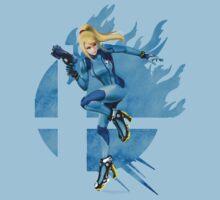 super smash bros zero suit samus by ericau18