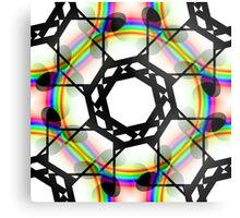 Semi-quaver rainbow Metal Print