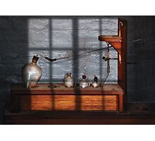 Chemist - The Science experiment Photographic Print