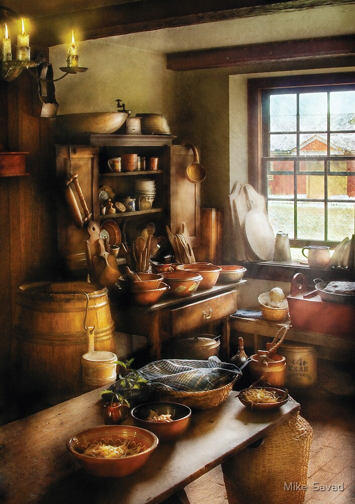 Baker - Nothing like home cooking by Mike  Savad