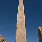 Queen Hatshepsut Obelisk at Karnak Temple by JamesTH
