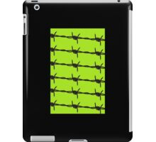 Barbed Wire by Chillee Wilson iPad Case/Skin