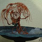 Copper Tree in A Bird Bath by coppertrees