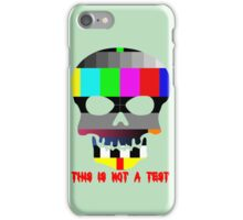 This is Not a Test iPhone Case/Skin