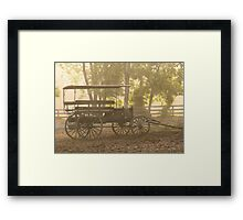 Wagon - Abe's Buggie Framed Print