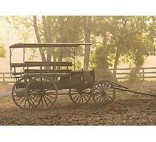 Wagon - Abe's Buggie Photographic Print
