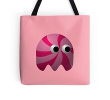Pink Cute Monster by Chillee Wilson Tote Bag